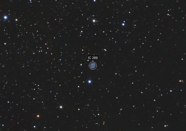 IC289 Planetary Nebula in Cassiopeia - EdgeHD 9.25 - ASI1600MM - LRGB