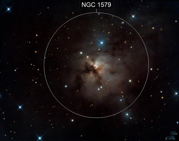 NGC1579 - NEBULOSA TRIFIDA NORTE