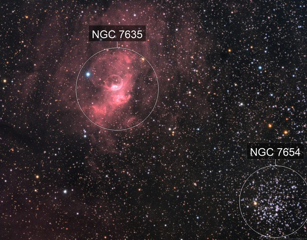 La Bulle - NGC 7635