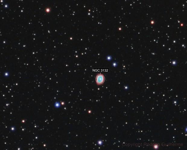 The Eight Burst Nebula - NGC3132