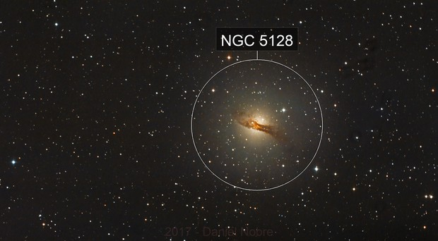 Centaurus A - NGC 5128 - 2 hours of good subs...