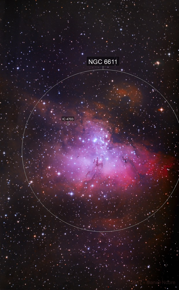 Eagle Nebula - 4 nights of acquisition ( 6 hours of good subs) :-)