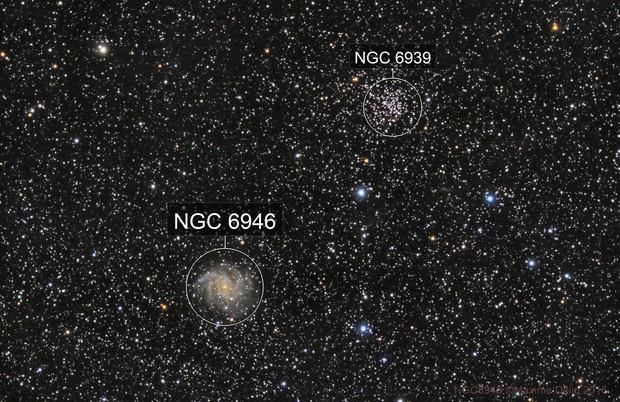 NGC6946 & NGC6939
