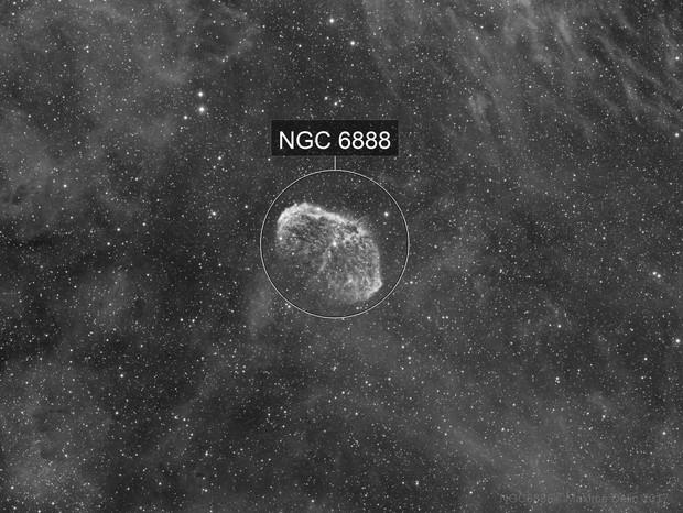 NGC6888 H-alpha