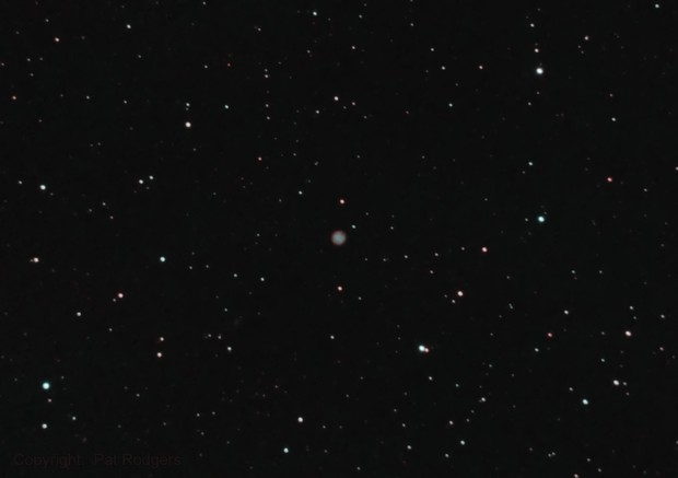 Abell 10 small PN in Orion.