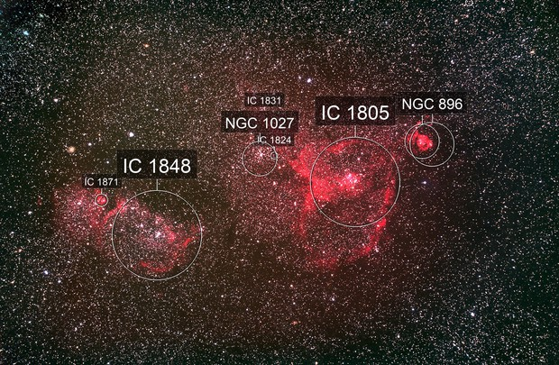 IC1805 and IC1848