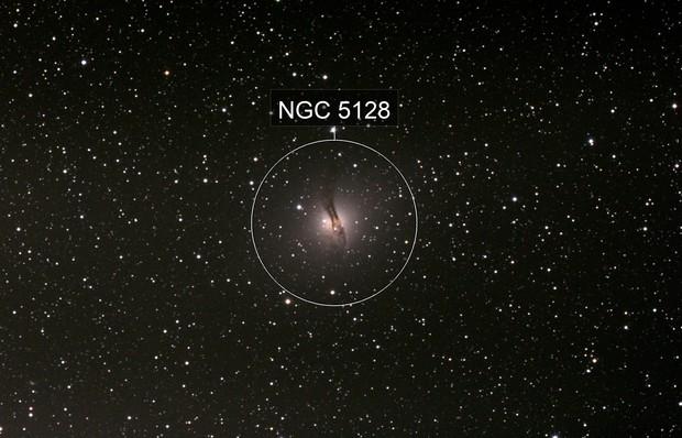 Centaurus A Galaxy - NGC 5128