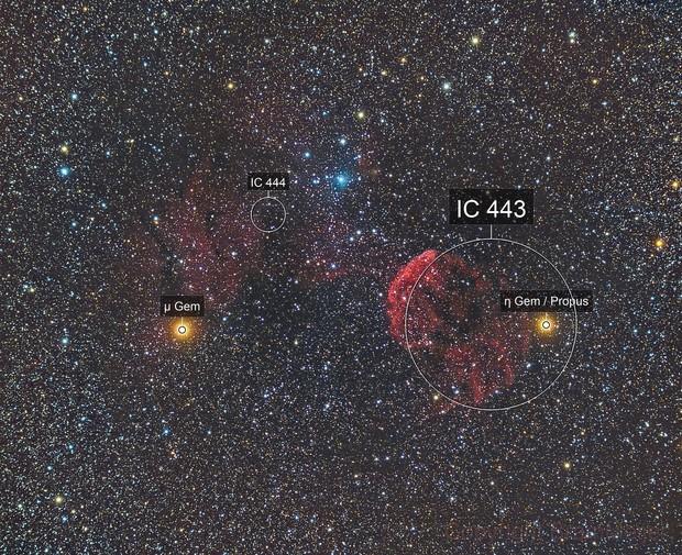 IC 443 Jellyfish Nebula