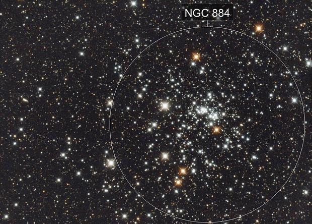 Double Cluster - Caldwell 14