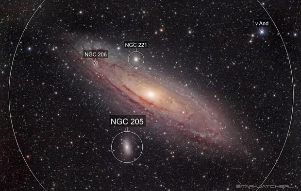 M31 Andromeda Galaxy (400mm)