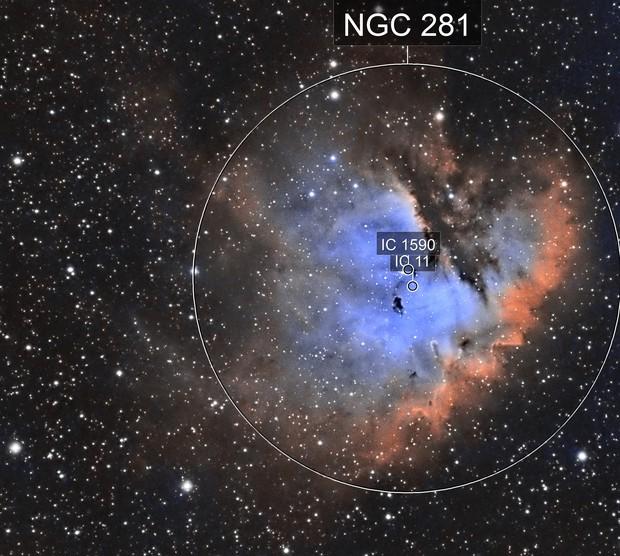NGC-281 (Pacman Nebula)