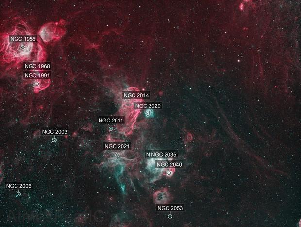 NGC 2020 Bi Colour