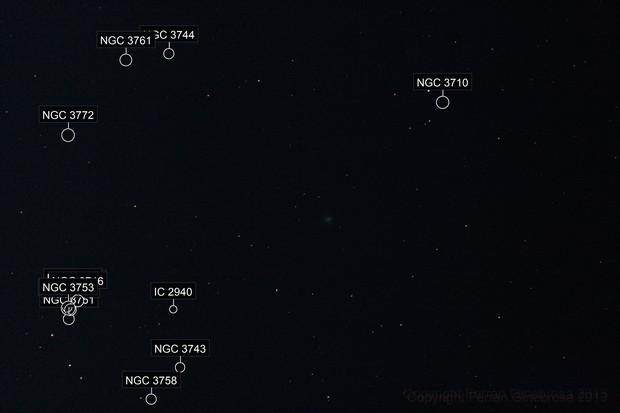 Comet ENCKE 2P - October