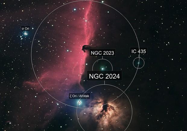IC434 Ha RVB