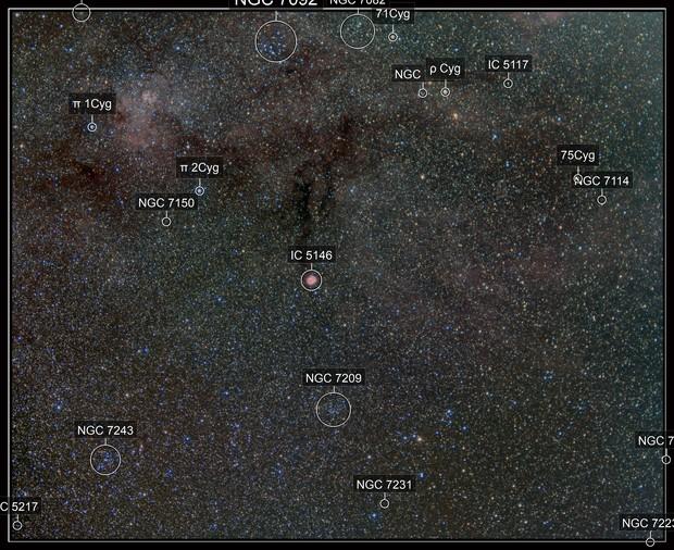 IC 5146 in Cygnus