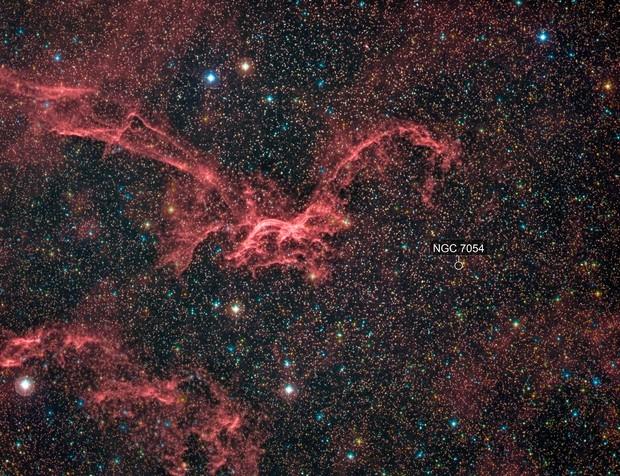 Sharpless 2-114 - The Flying Dragon