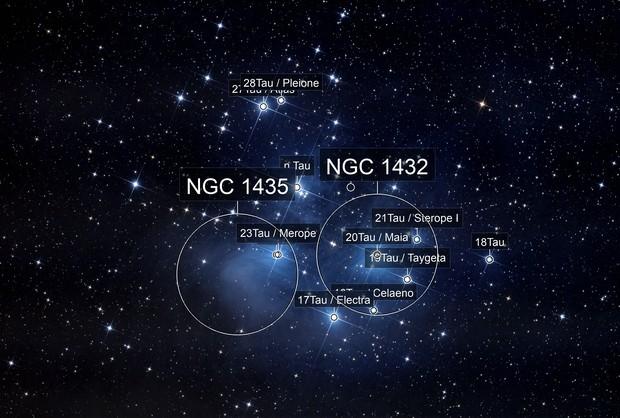 Les Pleiades M45