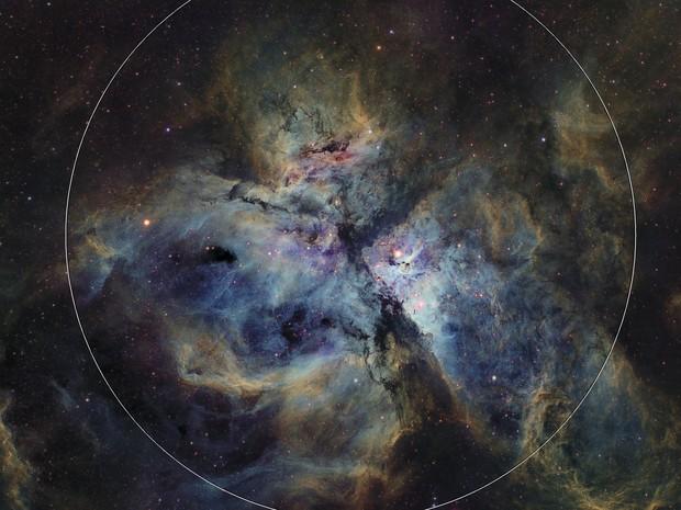 NGC 3372 - Narrowband