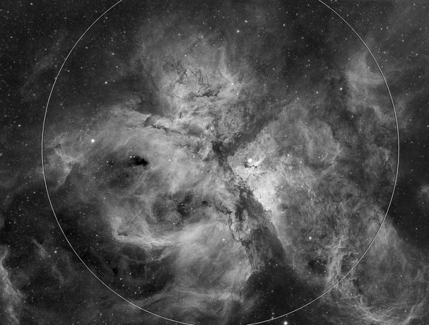 NGC 3372 - Ha
