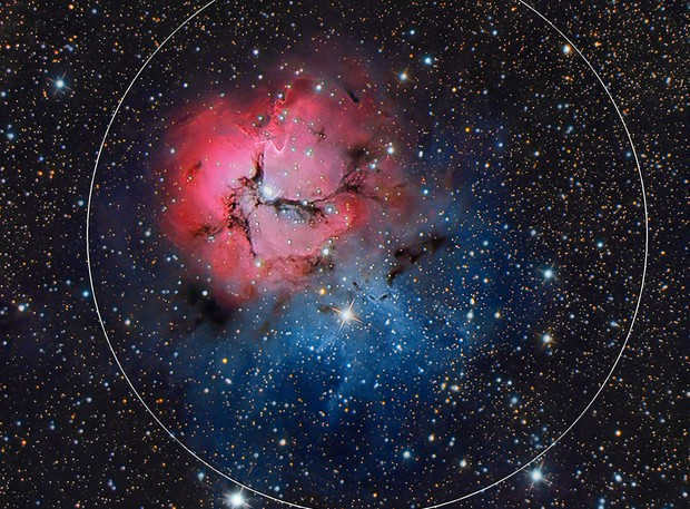 M20 - Trifid Nebula - RGB