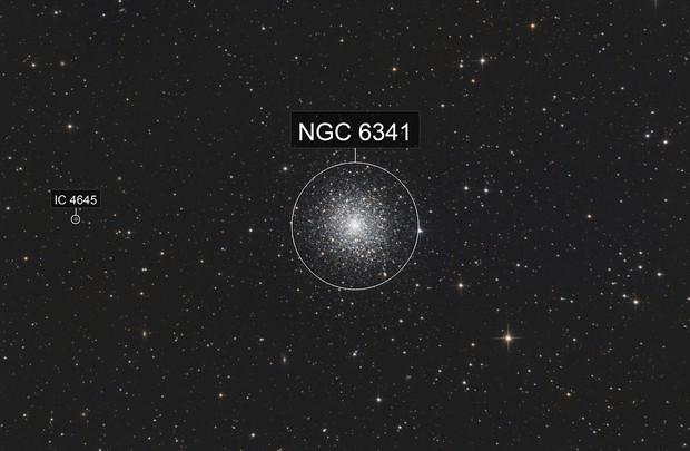 M92 - globular cluster in Hercules