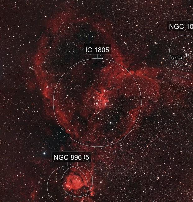 Heart Nebula (HaRGB with DSLR)