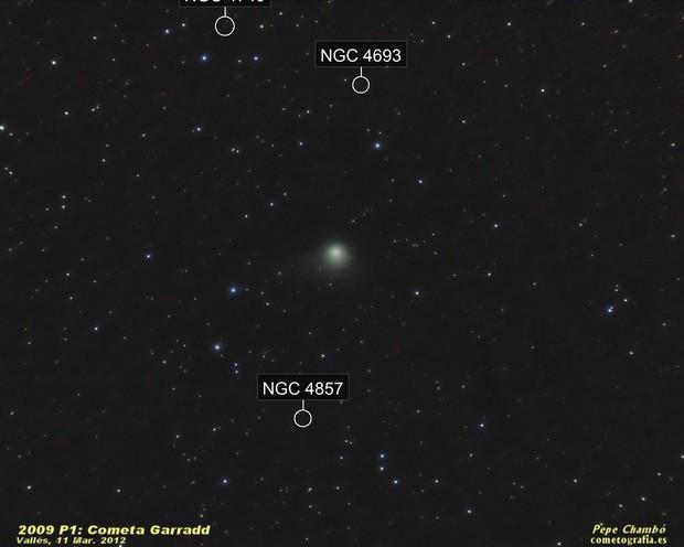 Comet Garradd on March 11th