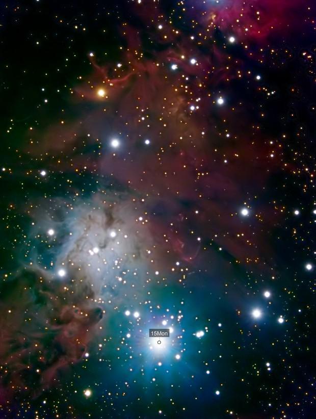NGC2264 - Christmas Tree Cluster (LRGB)