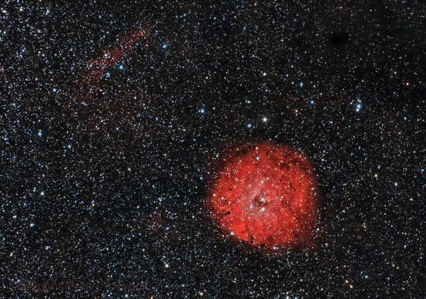 SH2-170 Emission Nebula
