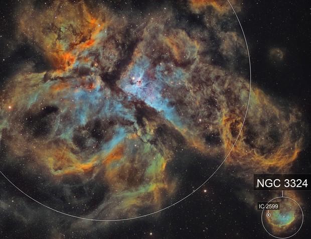NGC 3372 in Carina