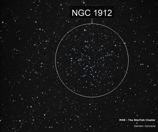M38 - The Starfish Cluster
