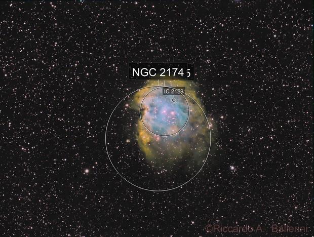 NGC 2174 - Monkey Nebula