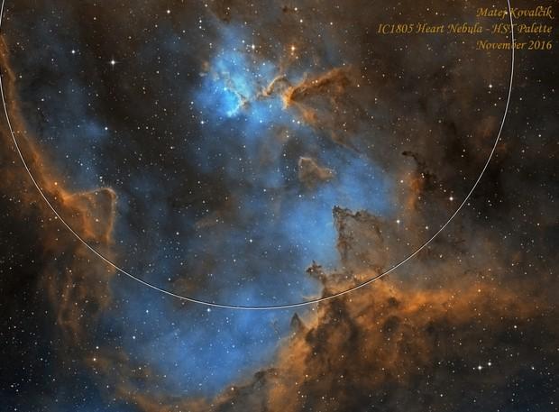 IC1805 HST