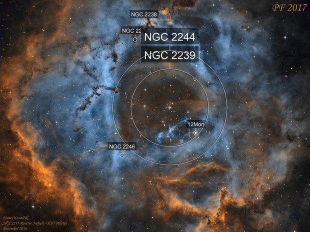 NGC2237 Rosette Nebula
