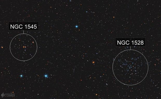 NGC 1528 & NGC 1545