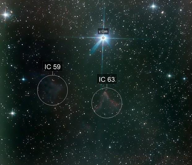 IC 63 - Die Geister von Kassiopeia