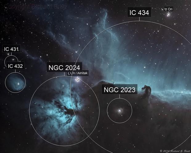 IC434 - Horsehead Nebula NB