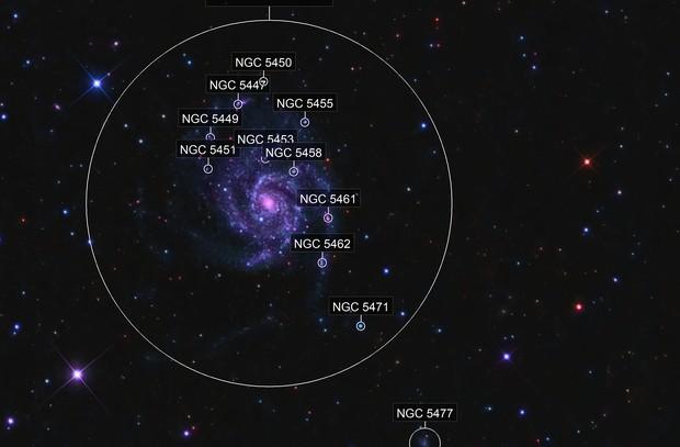 M101 - Pinwheel Galaxy - LRGB - Orion 80ED - Sirius EQ - ASI1600MM Cool