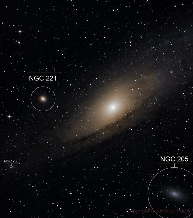 m31  Great Nebula in Andromeda