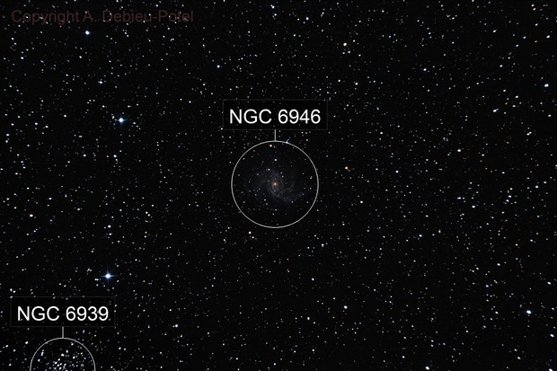 ISS+NGC6946+Supernova