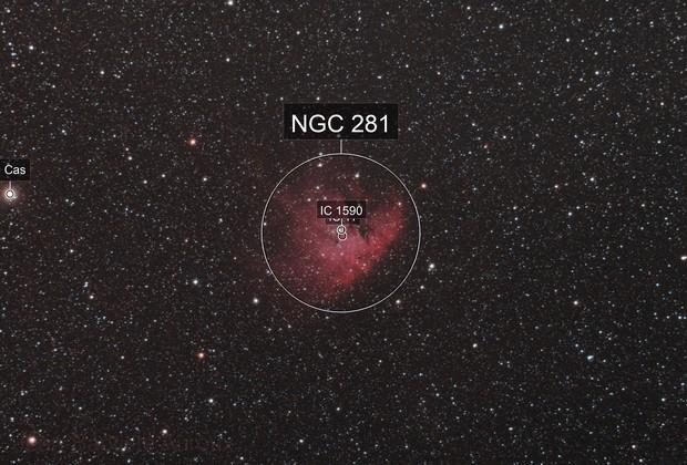 """NGC 281 """"Pacman"""" - APO 66"""