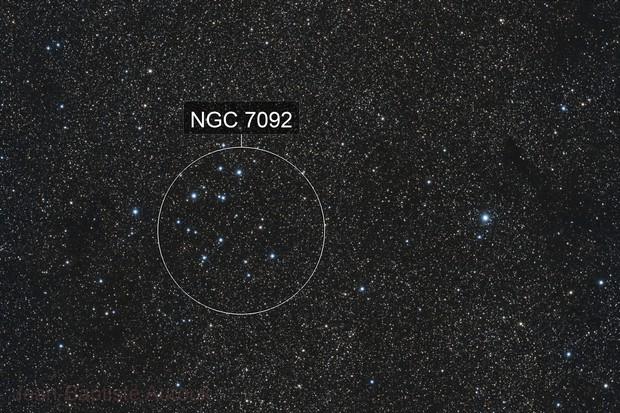 M39 Open Cluster in Cygnus - TSA 102