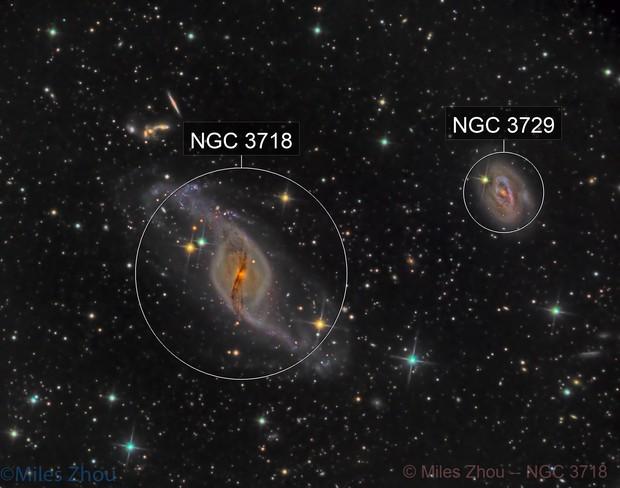 NGC 3718 (LRGB @ DSW)