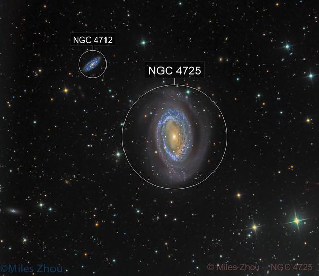 NGC 4725 @DSW