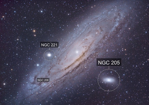 Messier 31 Great Andromeda Luminance