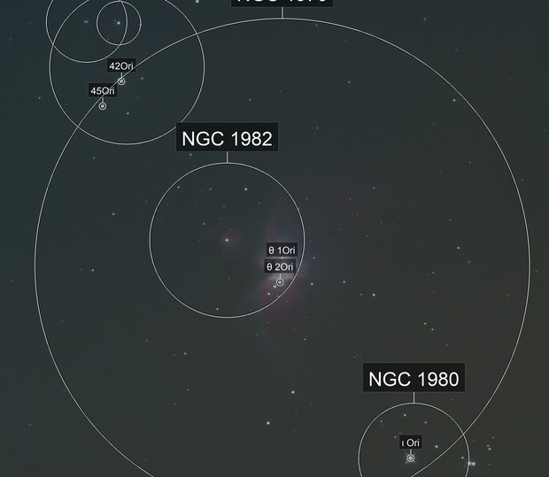 M42 kurz vor Untergang