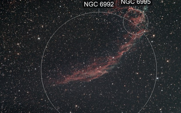 NGC 6992, 6995 / Guiding Tests / first try