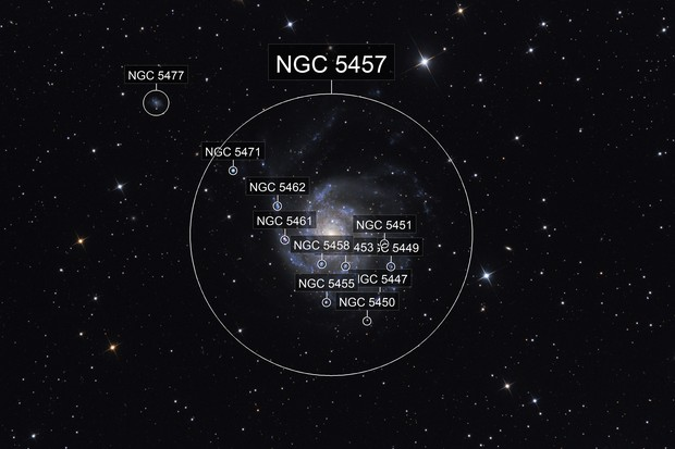 Messier 101 - Pinwheel galaxy