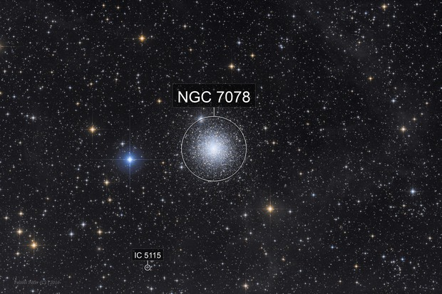 Messier 15 and IFN