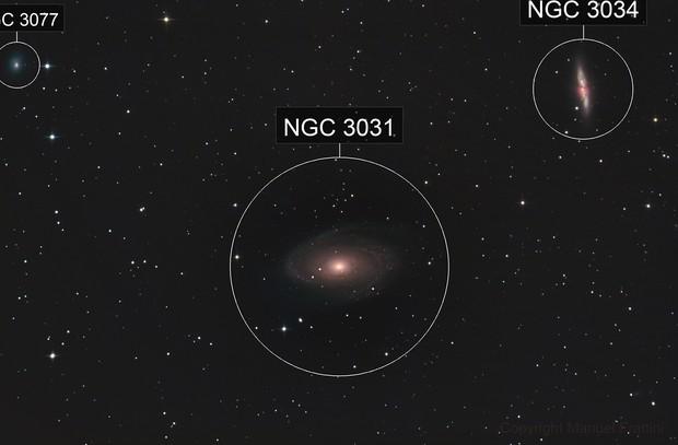 M81-82 / NGC3077